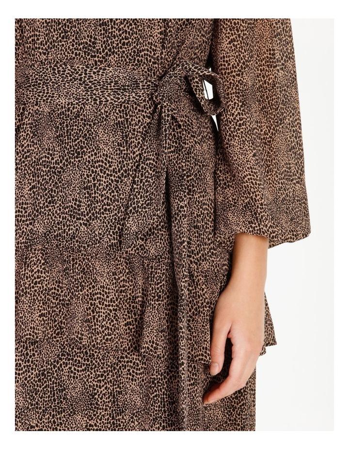 Tiered Jungle Midi Dress image 5