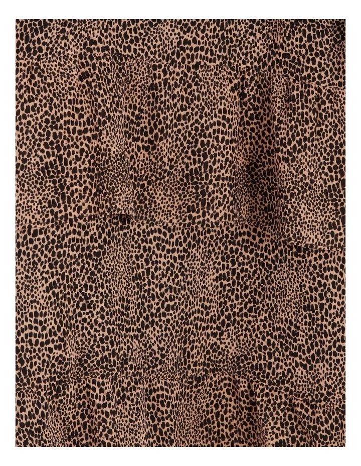 Tiered Jungle Midi Dress image 6