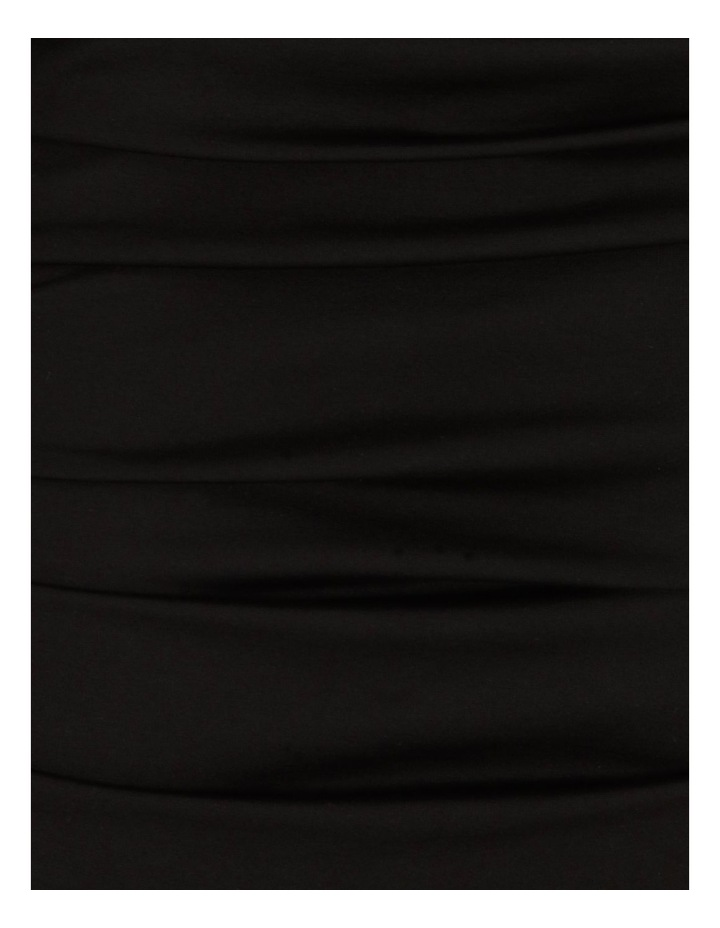 Long-Sleeve Ruched Jersey Dress image 6