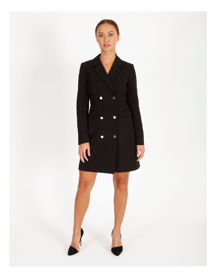 Double-Breasted Blazer Dress image 1