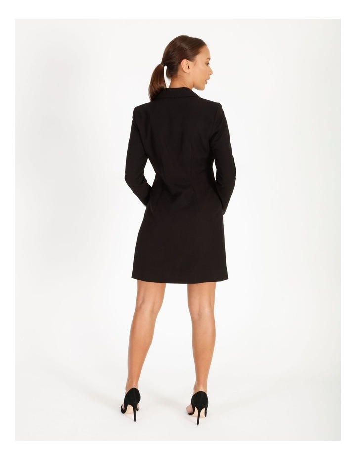 Double-Breasted Blazer Dress image 3