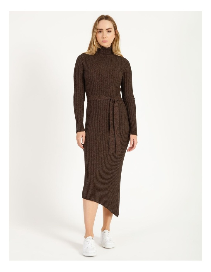 Roll Neck Knit Dress image 1