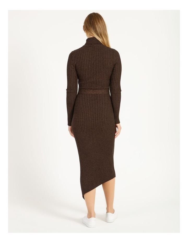 Roll Neck Knit Dress image 3