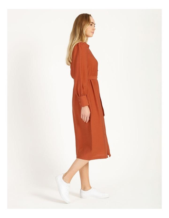 Blousson Midi Shirt Dress image 2