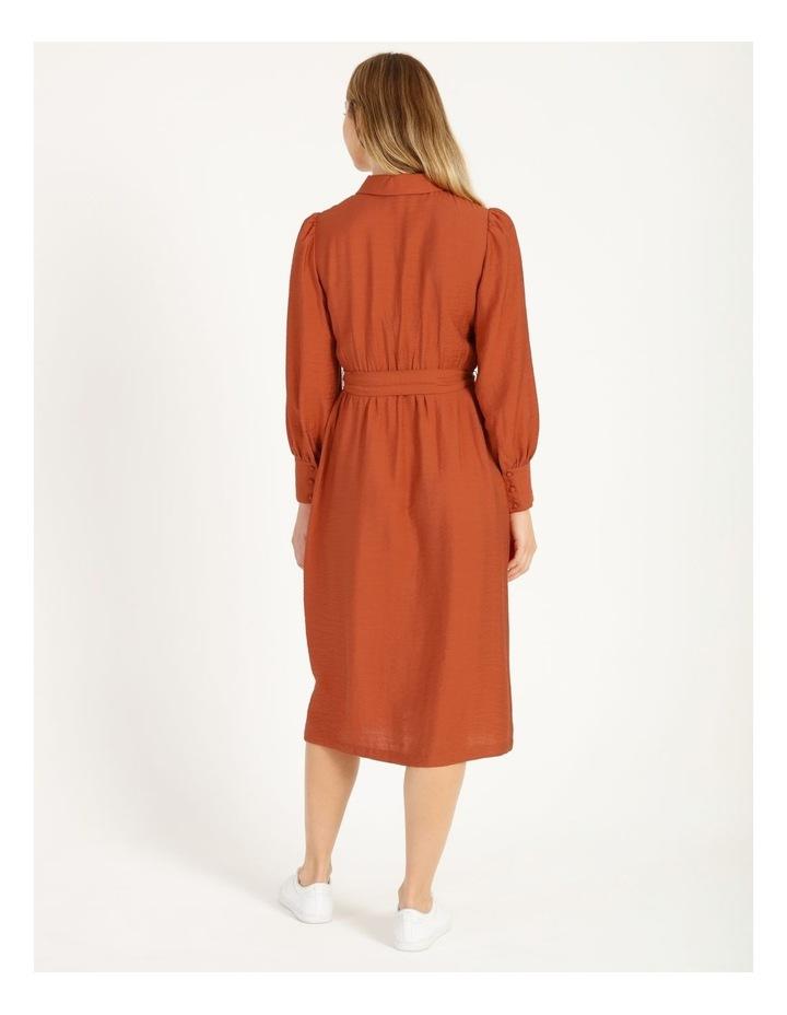Blousson Midi Shirt Dress image 3