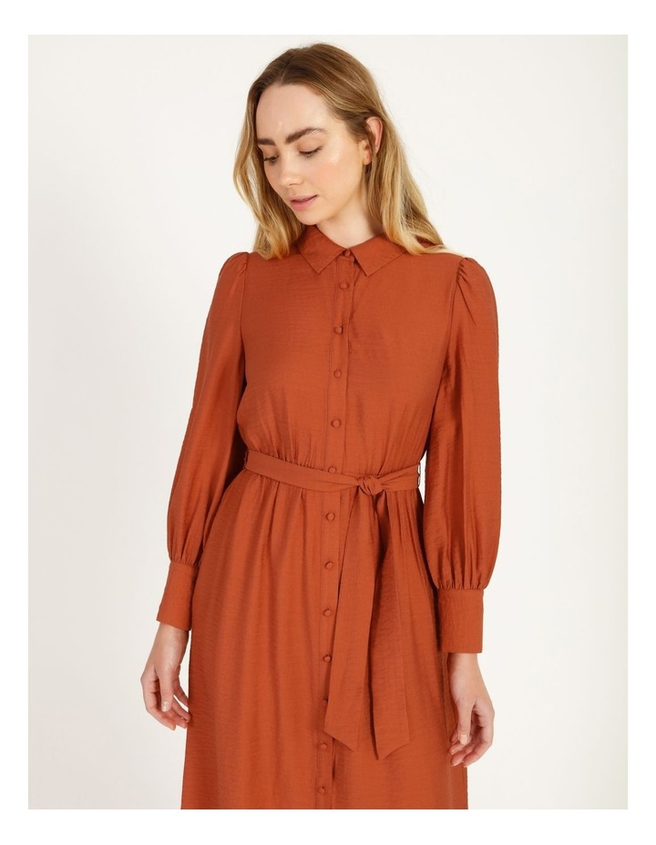Blousson Midi Shirt Dress image 4
