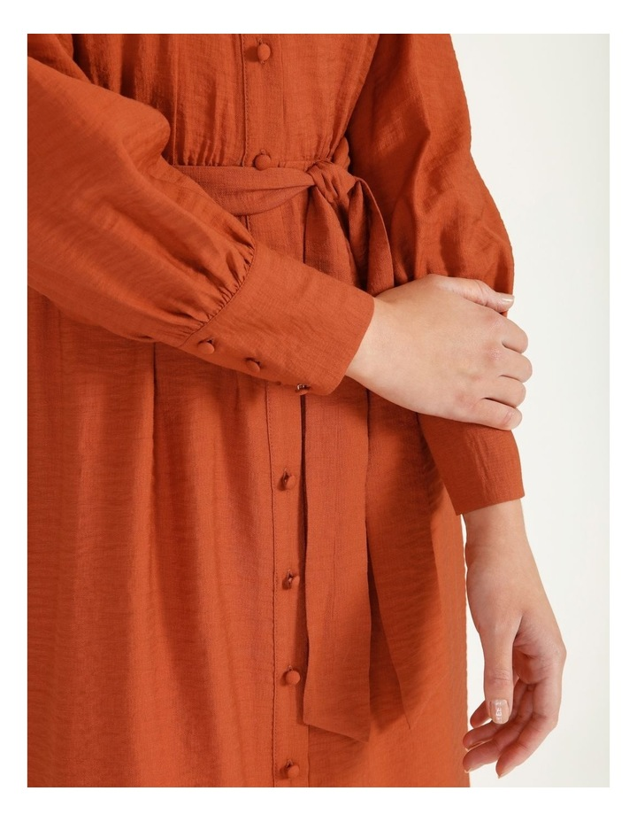 Blousson Midi Shirt Dress image 6