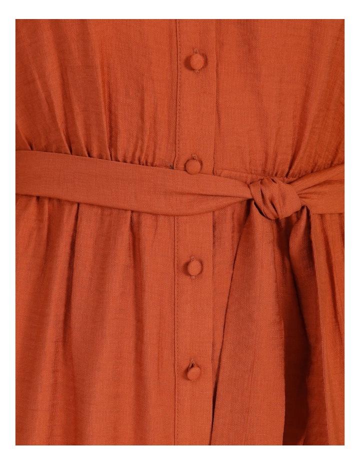 Blousson Midi Shirt Dress image 7
