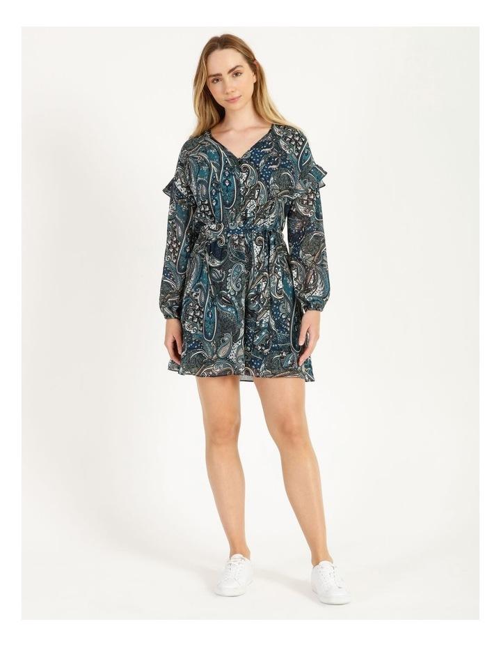 Printed Mini Dress image 1