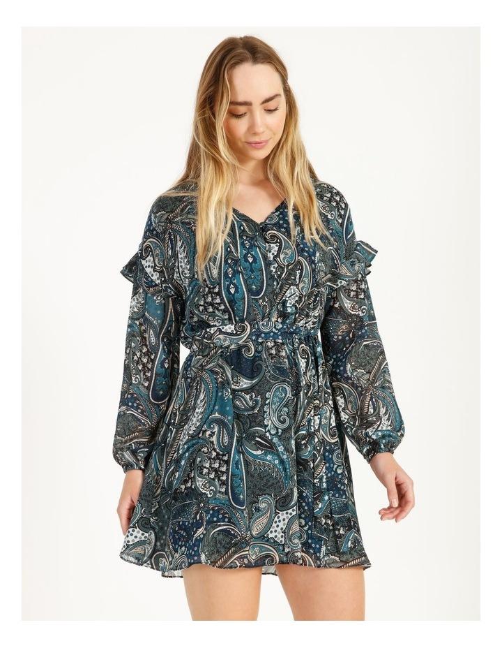 Printed Mini Dress image 2