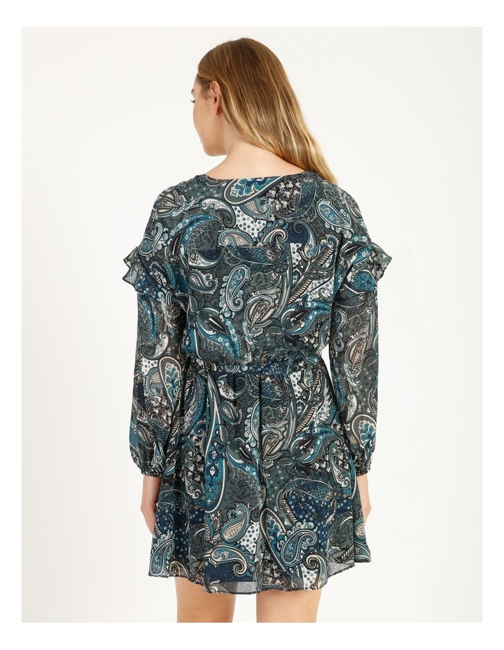 Printed Mini Dress image 4