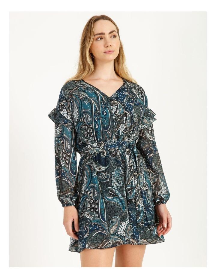 Printed Mini Dress image 5