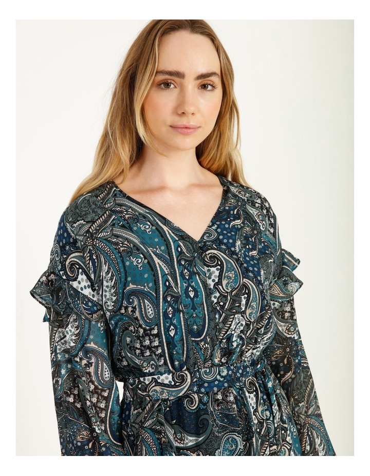 Printed Mini Dress image 6