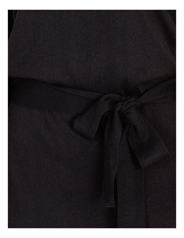 Blouson Sleeve Wool Blend Knitted Dress image 5