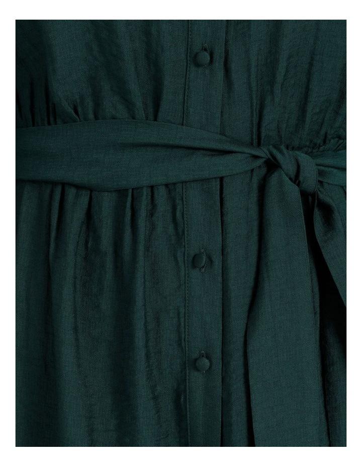 Blouson Midi Shirt Dress image 5