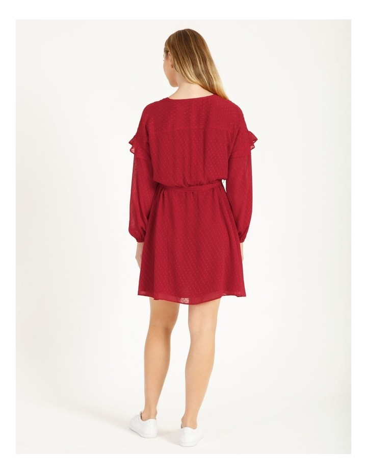 Button Front Mini Dress image 4