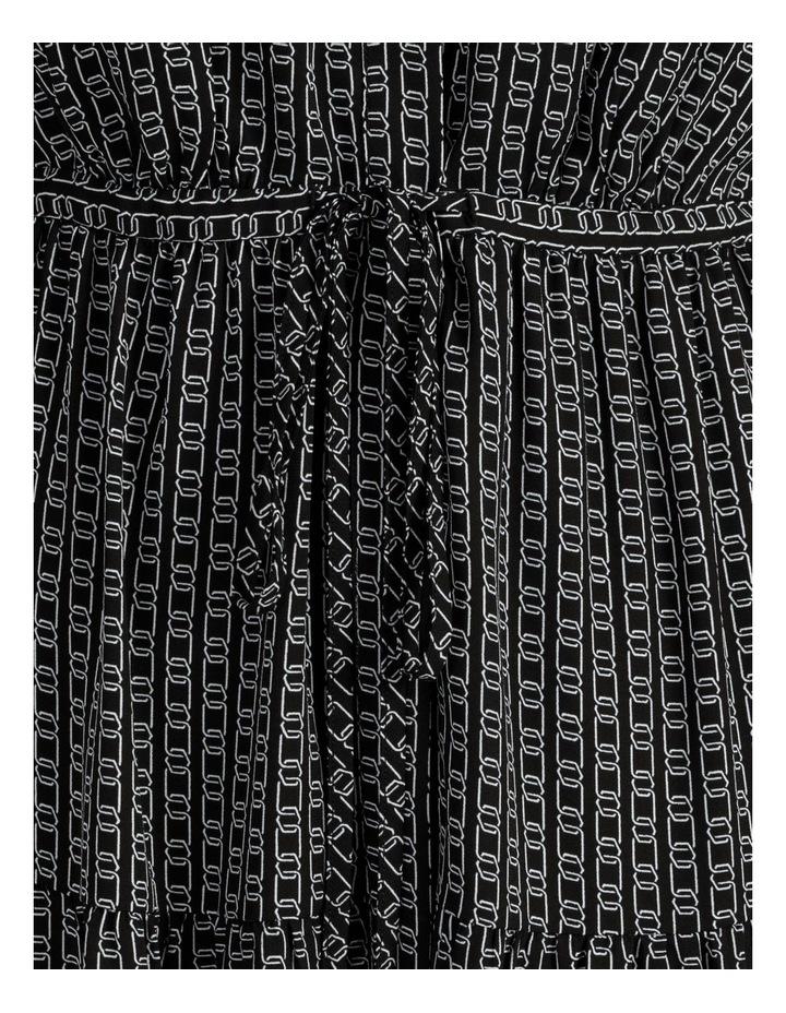Blouson Sleeve Printed Shirt Dress image 6