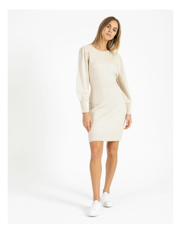 Cable Knit Mini Dress image 1