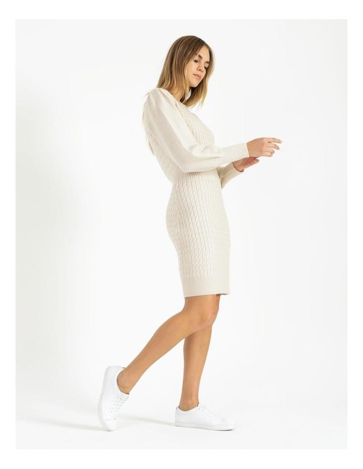 Cable Knit Mini Dress image 2