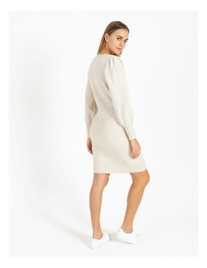 Cable Knit Mini Dress image 3