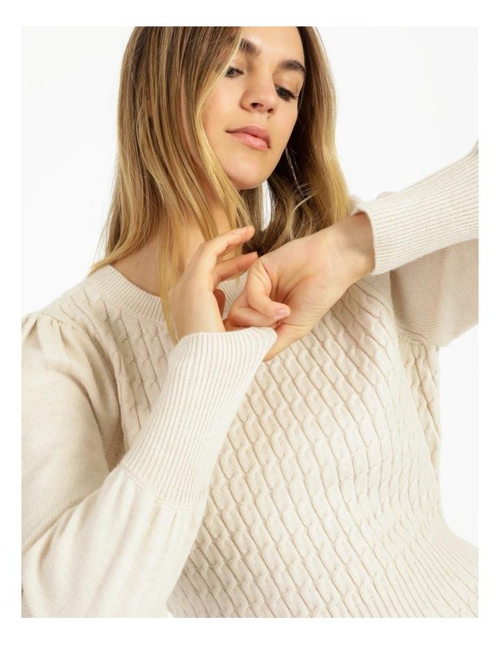 Cable Knit Mini Dress image 4