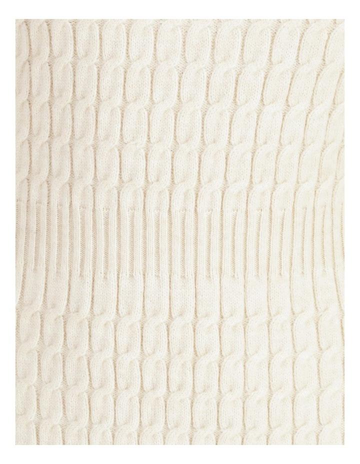Cable Knit Mini Dress image 5