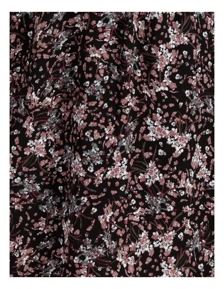 Puff Sleeve Shirred Mini Dress image 6