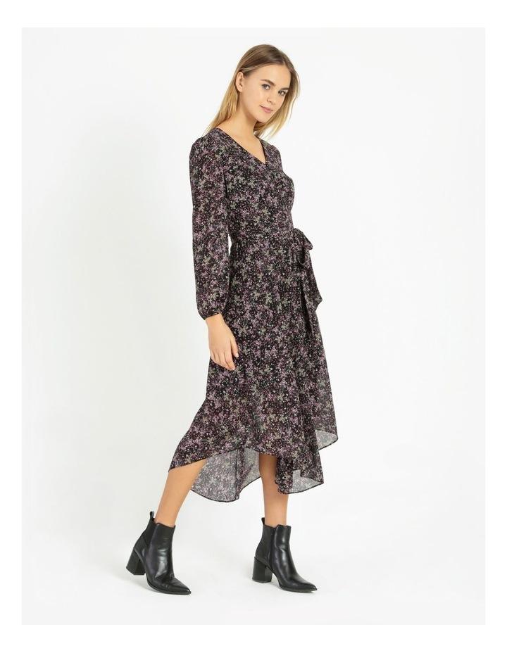 Hi Low Soft Midi Dress image 3