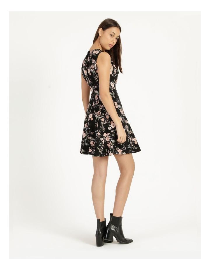 Zip Feature Fit & Flare Mini Dress image 5