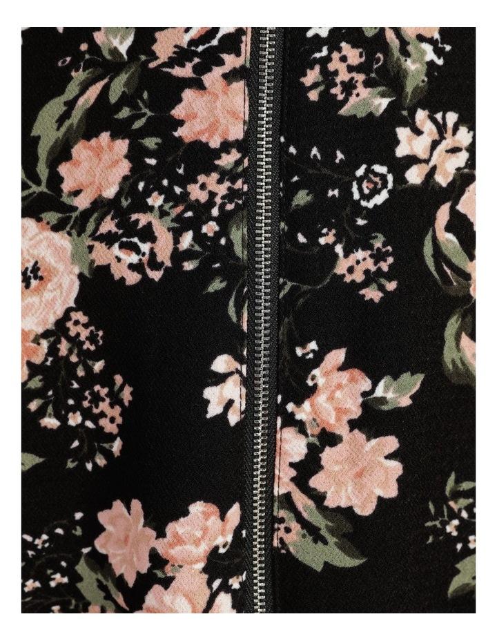 Zip Feature Fit & Flare Mini Dress image 7