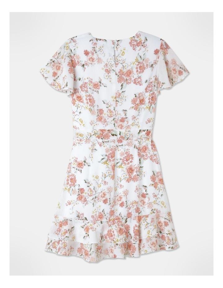 Flutter Sleeve Ruffle Mini Dress image 4