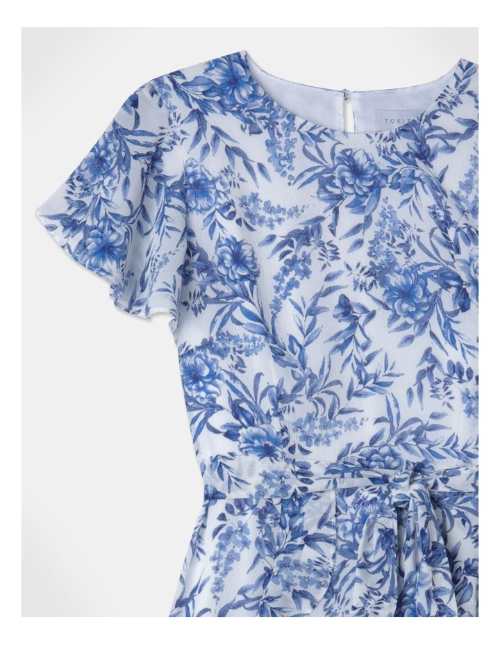 Flutter Sleeve Ruffle Mini Dress image 2