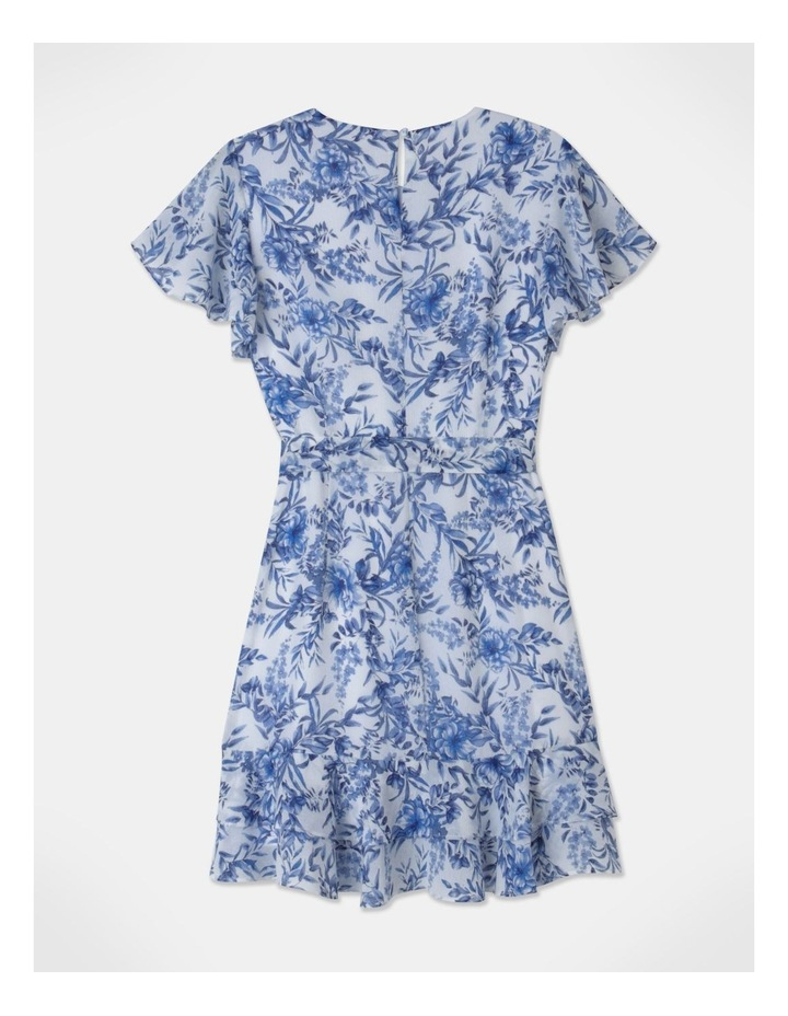 Flutter Sleeve Ruffle Mini Dress image 3
