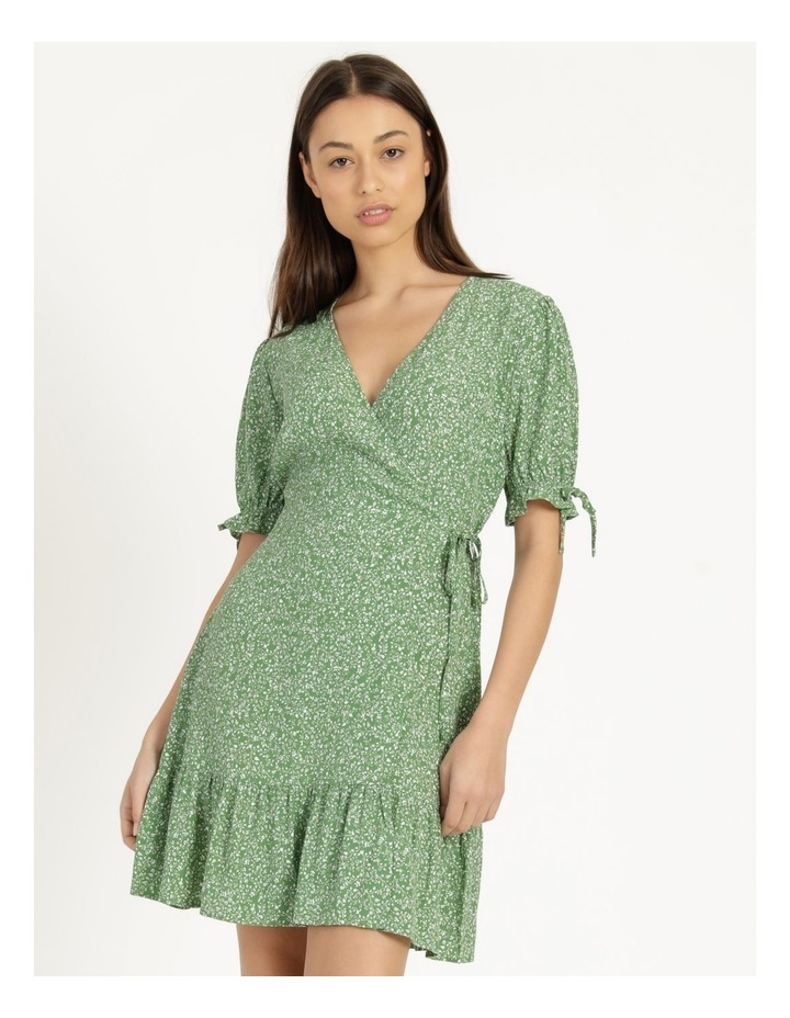 Shirred Waist Mini Tea Dress image 1