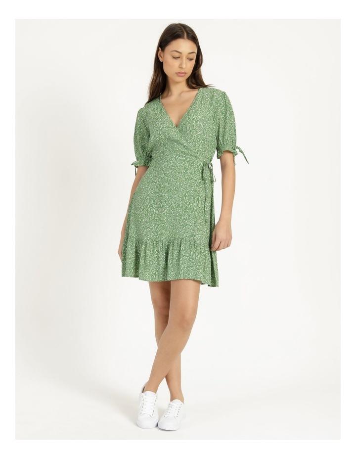 Shirred Waist Mini Tea Dress image 2