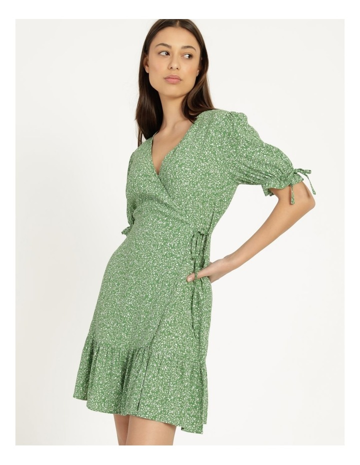 Shirred Waist Mini Tea Dress image 3