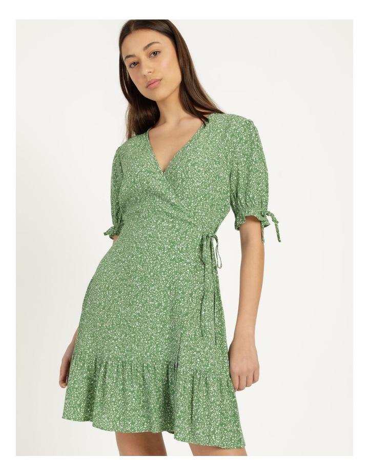 Shirred Waist Mini Tea Dress image 4