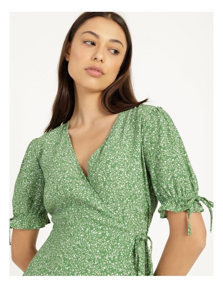 Shirred Waist Mini Tea Dress image 5