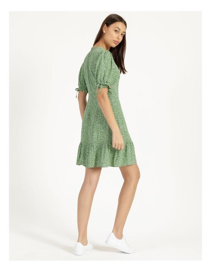 Shirred Waist Mini Tea Dress image 6