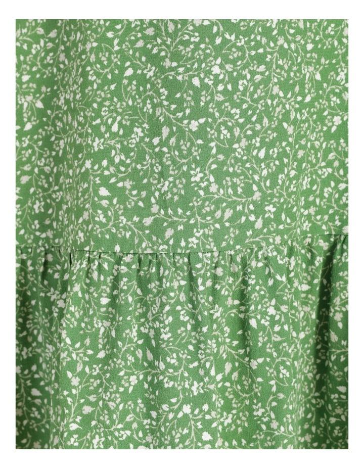 Shirred Waist Mini Tea Dress image 7