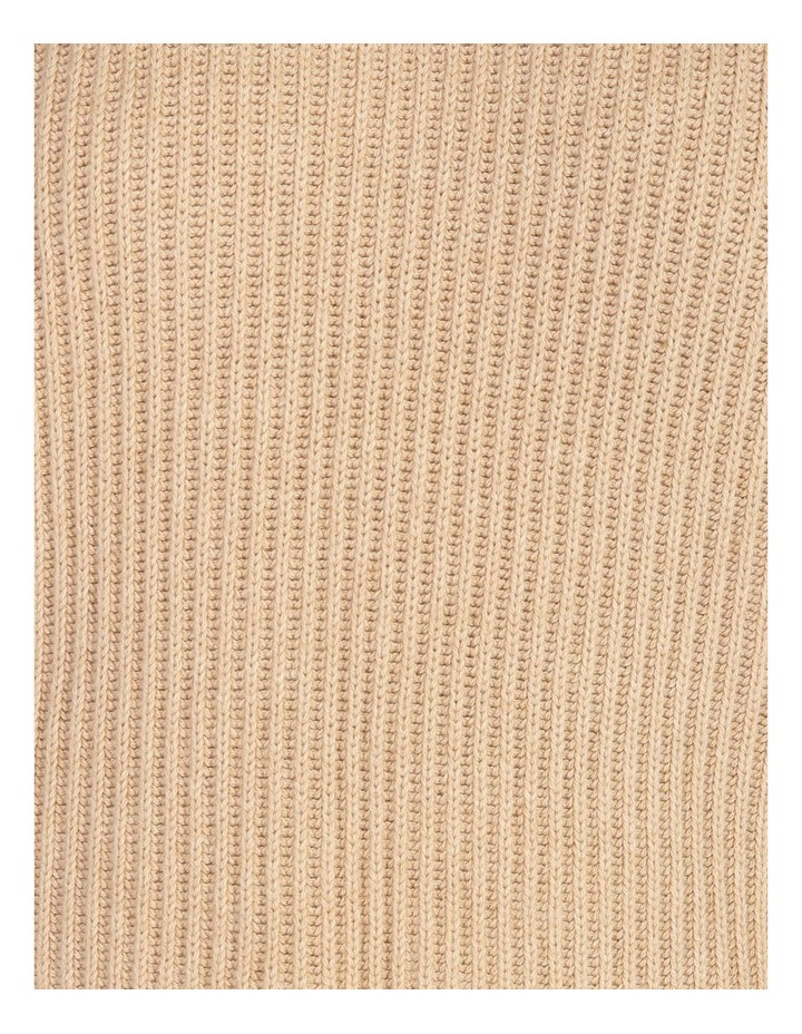 High Neck Wool Blend Sweater image 6