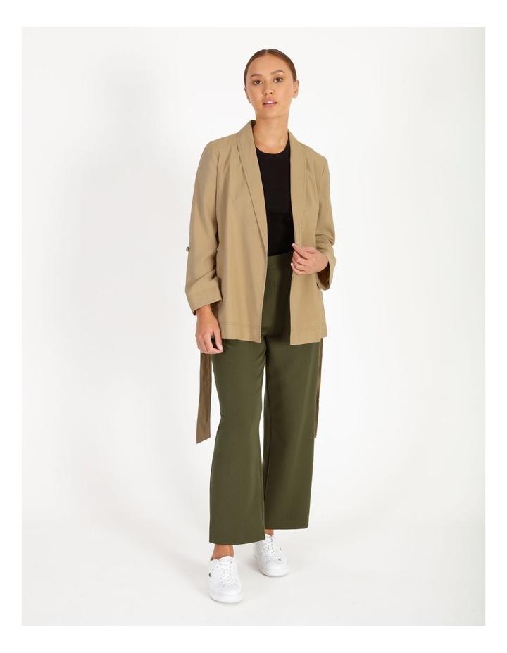 Petite Soft Wrap Jacket With Tie image 1