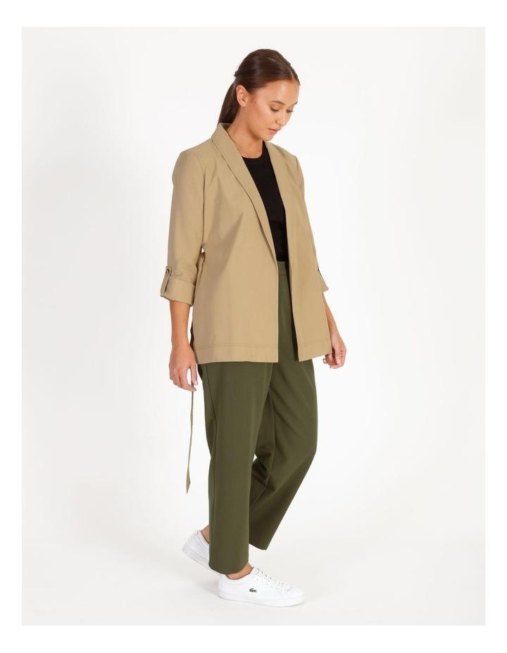 Petite Soft Wrap Jacket With Tie image 2