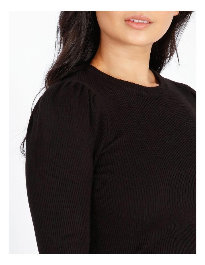 Petite Long-Sleeve Rib-Knit Top image 4
