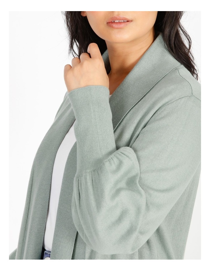 Petite Blouson Sleeve Cardigan image 4