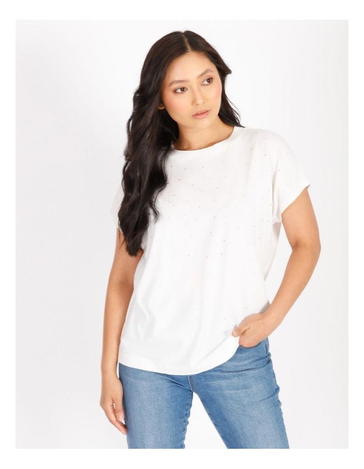 Petite Diamante Short-Sleeve T-Shirt image 1