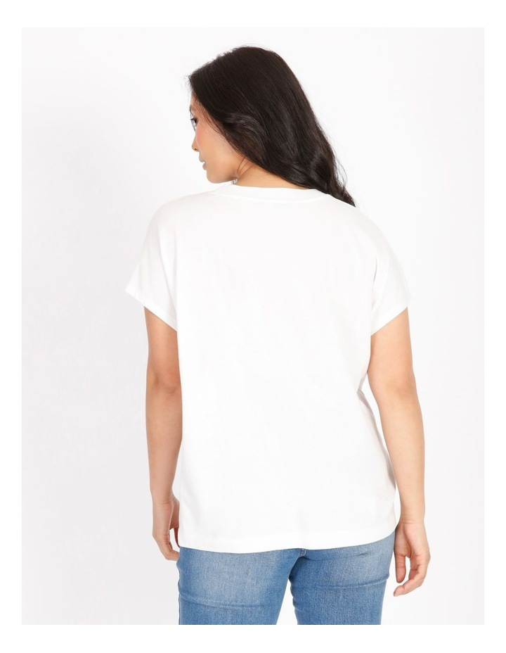 Petite Diamante Short-Sleeve T-Shirt image 3