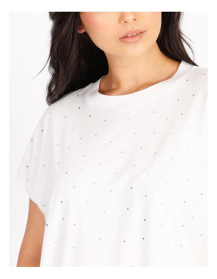 Petite Diamante Short-Sleeve T-Shirt image 4