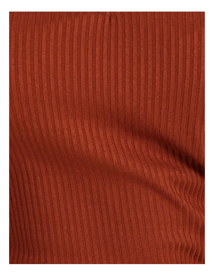 Puff Sleeve Rib Jersey Top image 6