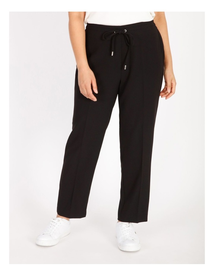 Petite Crepe Relaxed Jogger Pants image 1